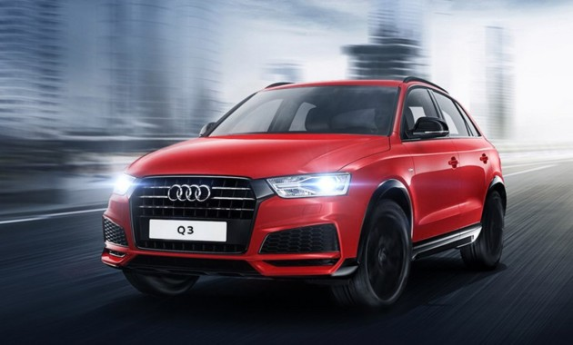 Модификация кроссовера Audi Q3 S line competition представлена российскому рынку