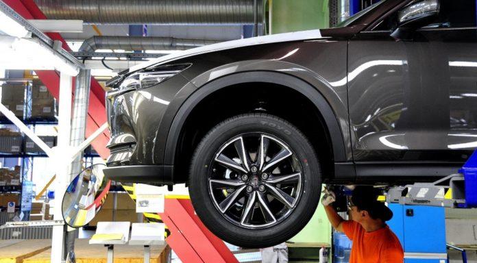На дальневосточном заводе Mazda началась сборка кроссоверов CX-5 2-го поколения