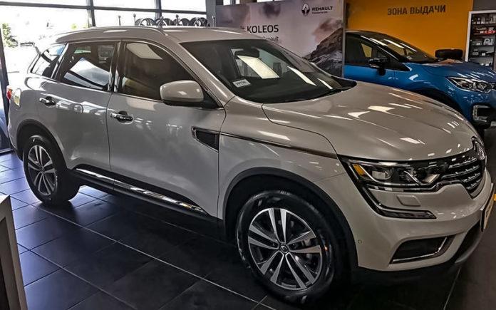 Большой кроссовер Renault Koleos обрел российские цены
