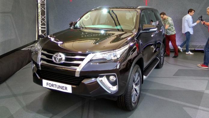 Японский бренд презентовал внедорожник Toyota Fortuner