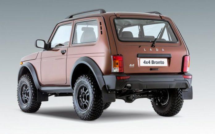 Отечественный производитель начал продажи новинки - внедорожника Lada 4x4 Bronto