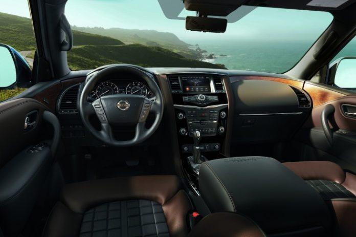 Nissan представил кроссовер Armada в новой топовой модификации