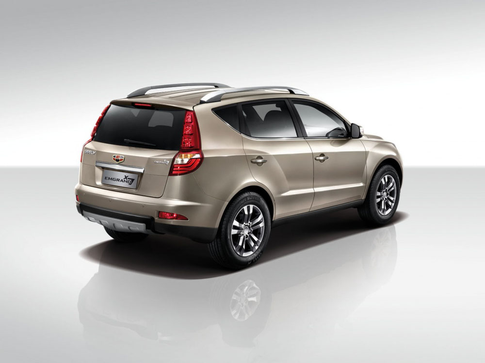 Geely Emgrand x7 2018