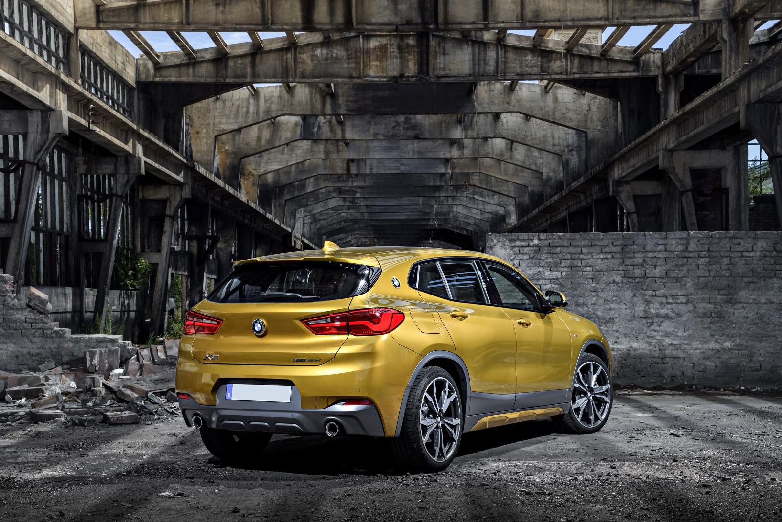 Тест-драйв BMW X2 2018 - для молодых и амбициозных водителей