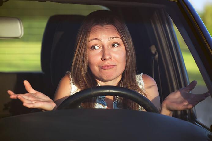 Отсутствие осаго у водителя