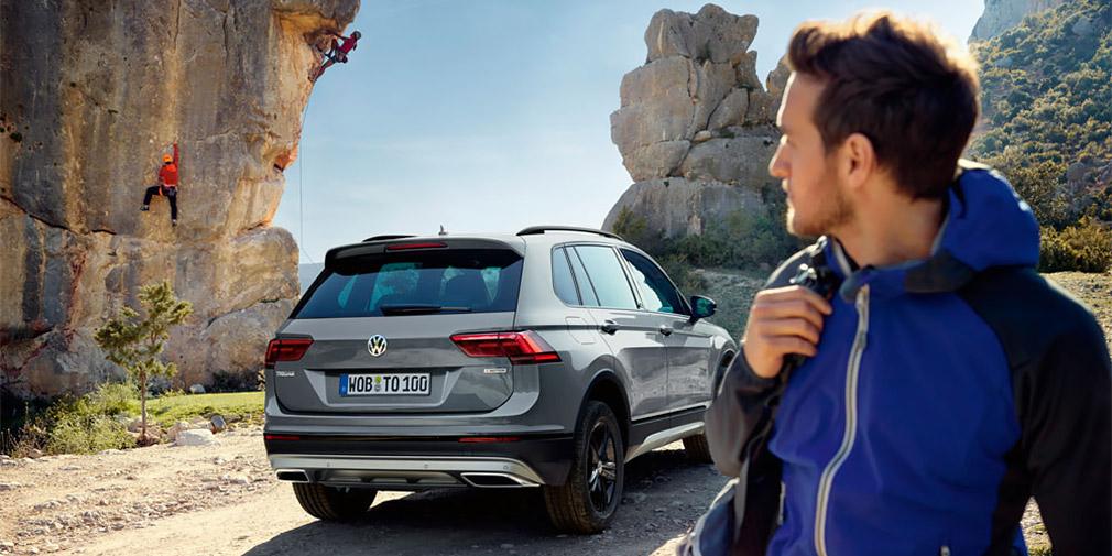 Кроссовер Volkswagen Tiguan Offroad: премьера модификации для  российского рынка