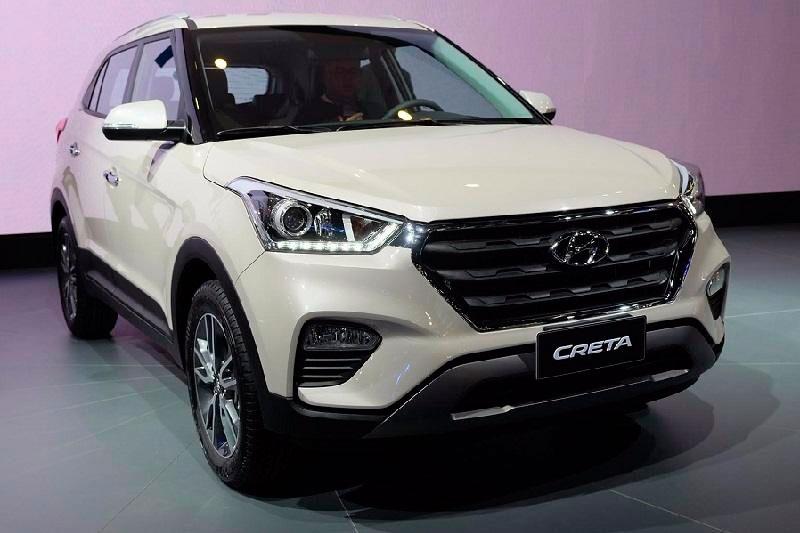 Модельный ряд кроссоверов Hyundai 2018-2019 года
