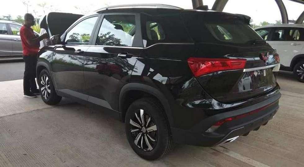 GM и SAIC готовятся вывести на рынок новый кроссовер Wuling Almaz