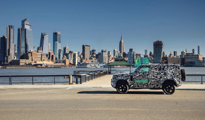 Land Rover готовит новый внедорожник с легендарным именем Defender к дебюту