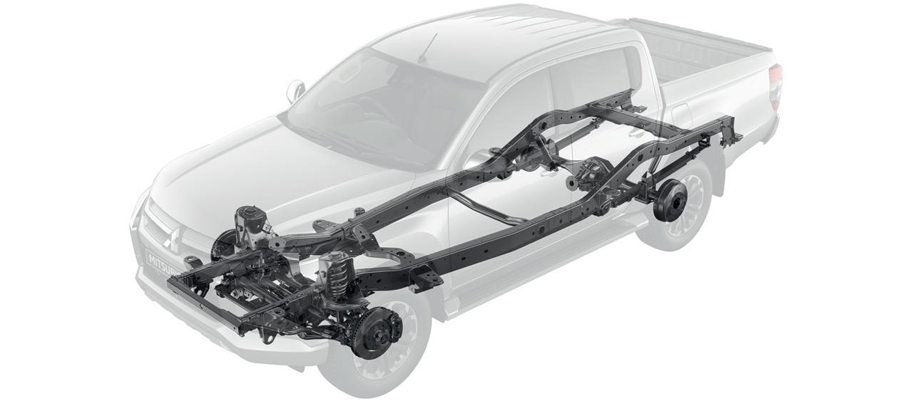 подвеска пикапа L200