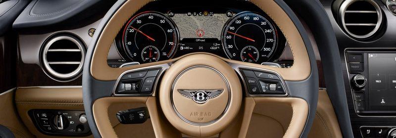 Bentayga от Bentley: обзор внедорожника класса люкс