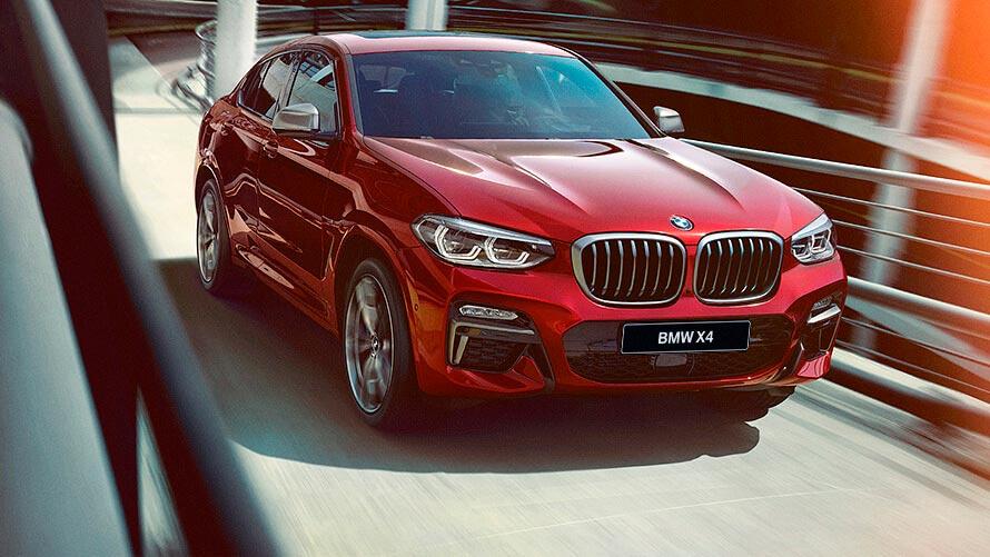 BMW X4 после рестайлинга