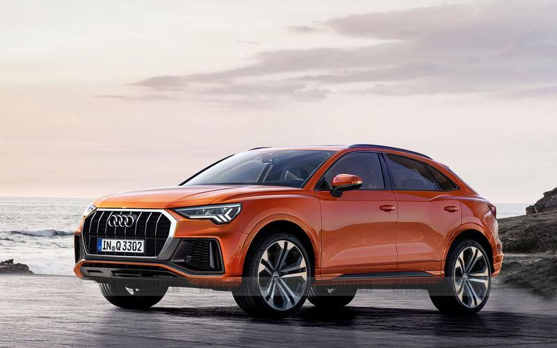 Кросс-купе Audi Q3 Sportback дебютирует в июле текущего года