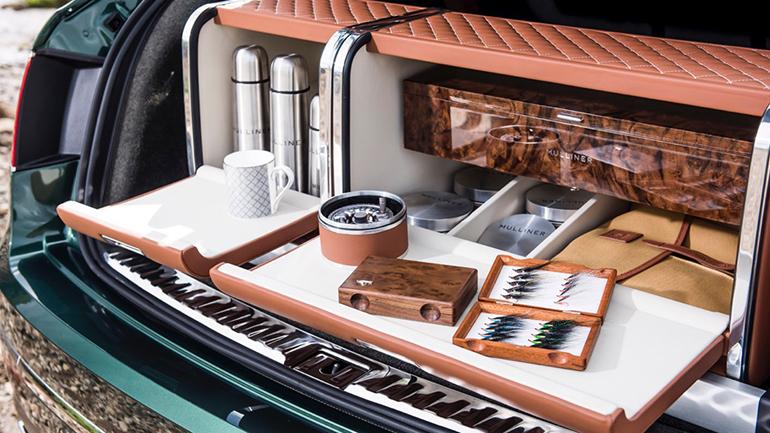 Тюниговое ателье Mulliner представило оборудованный для рыбалки кросс Bentley Bentayga