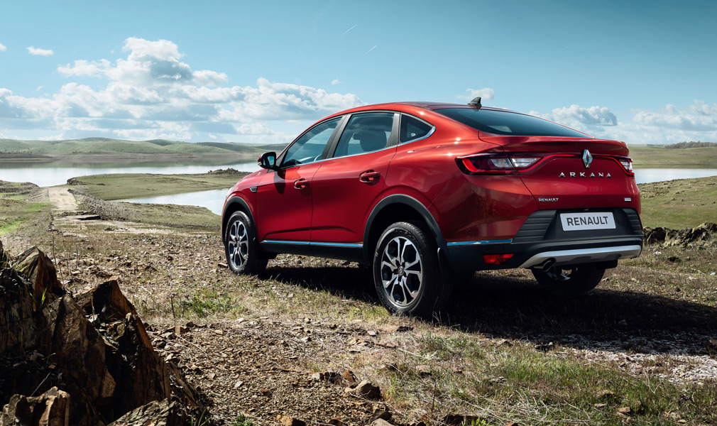 Официально рассекречен кросс-купе Renault Arkana для рынка РФ