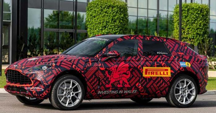 У британской торговой марки Aston Martin к 2020 году появится кроссовер DBS