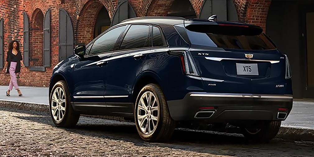 В Китае представлен обновленный кроссовер Cadillac XT5