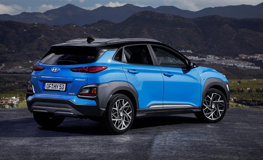 Новый кросс Hyundai Kona Hybrid на европейских рынках появится в августе