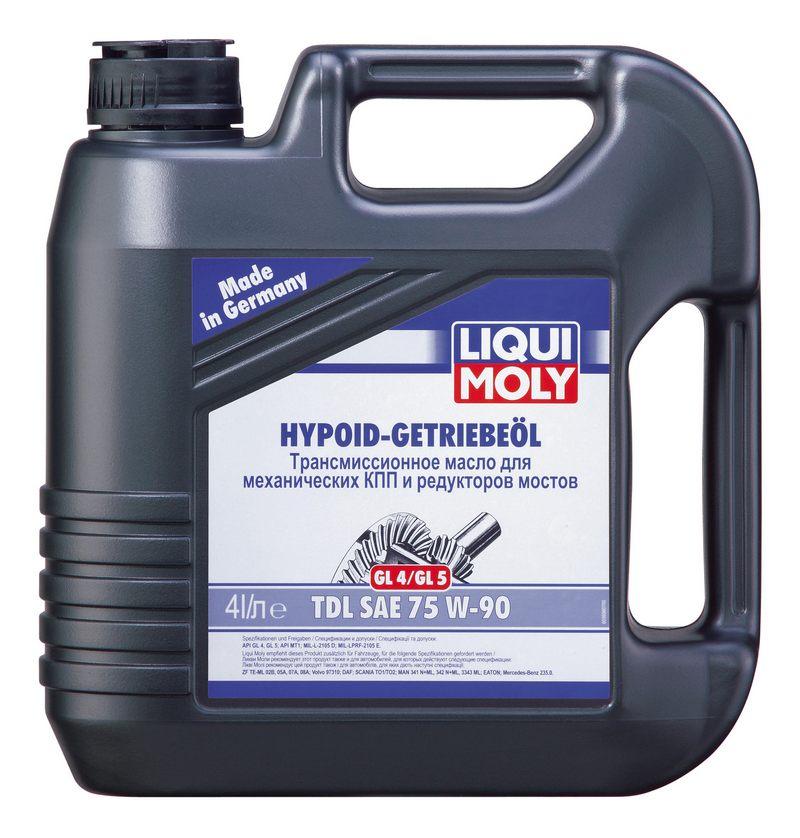 LIQUI MOLY Hypoid-Getriebeoil TDL 75W-90, полусинтетическое