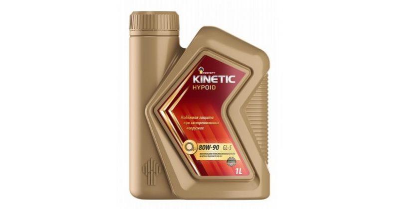Роснефть Kinetic MT, минеральное, 80W-90