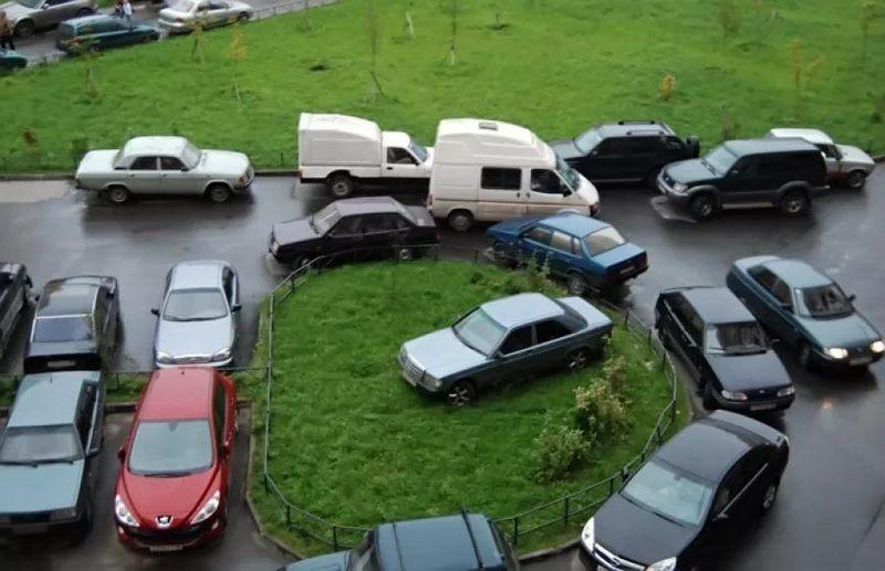 машину негде ставить