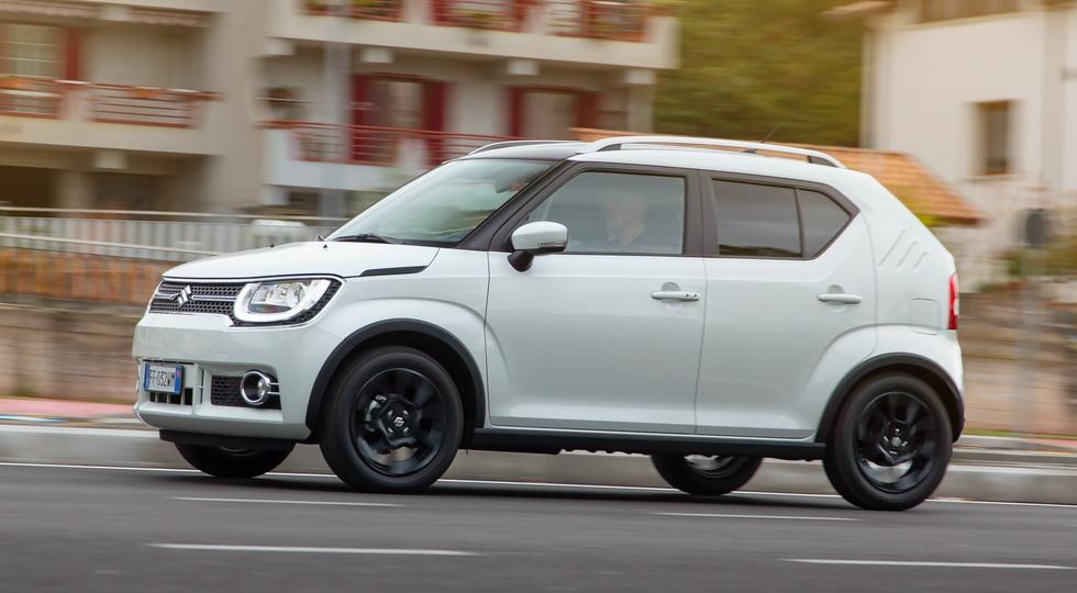 Компактный кроссовер Suzuki Ignis готовится к выходу на российский рынок
