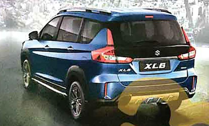 Японский бренд рассекретил новый кросс марки Suzuki XL6