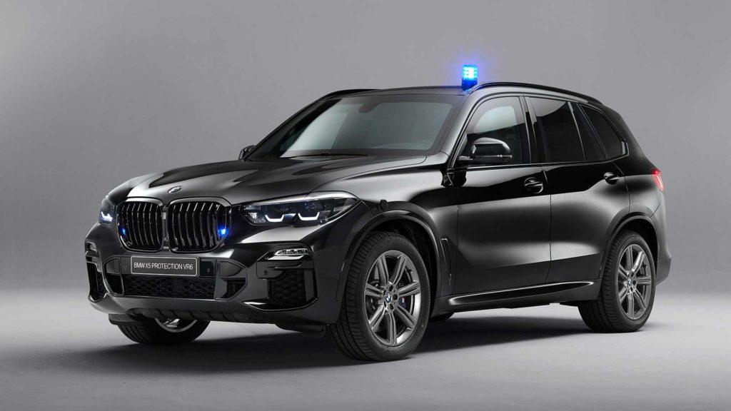 Представлен бронированный кроссовер BMW X5 VR6 Protection