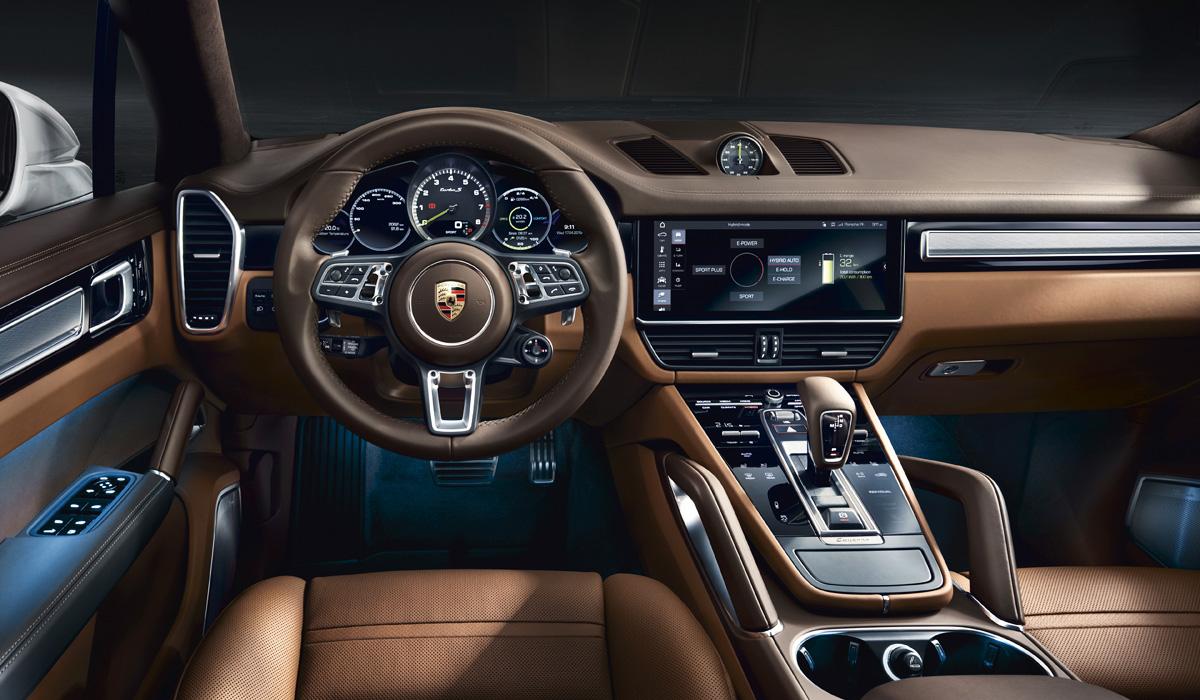 Porsche подготовил новинку - заряженный Cayenne Turbo S