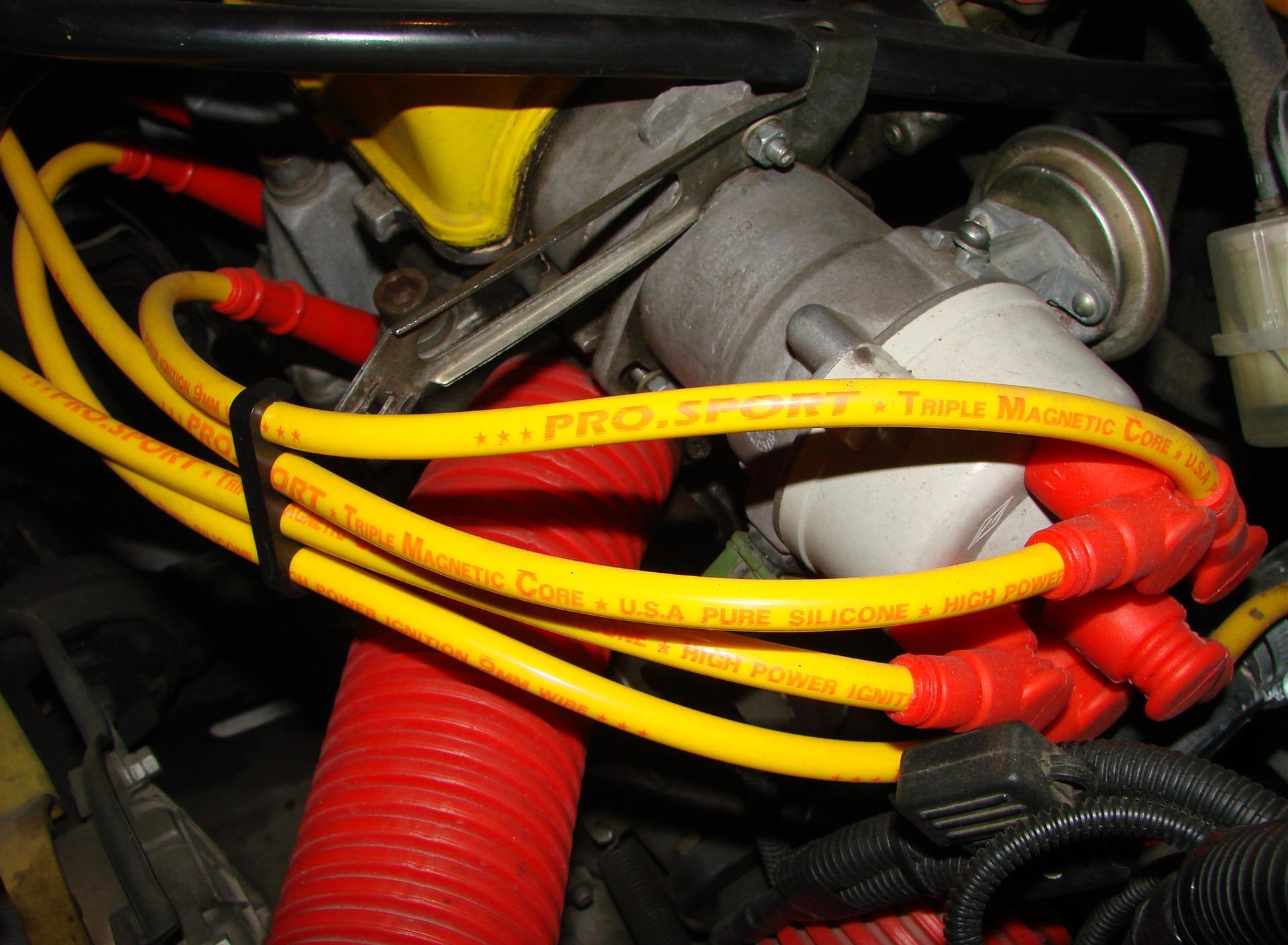 высоковольтные провода авто