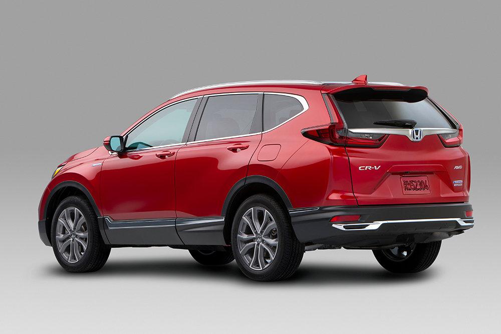 В США компания Honda представила обновленный кроссовер CR-V