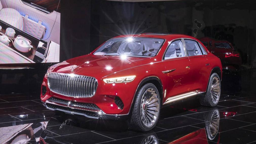 К концу года в России ожидается топовый кроссовер Mercedes-Benz GLS от Maybach