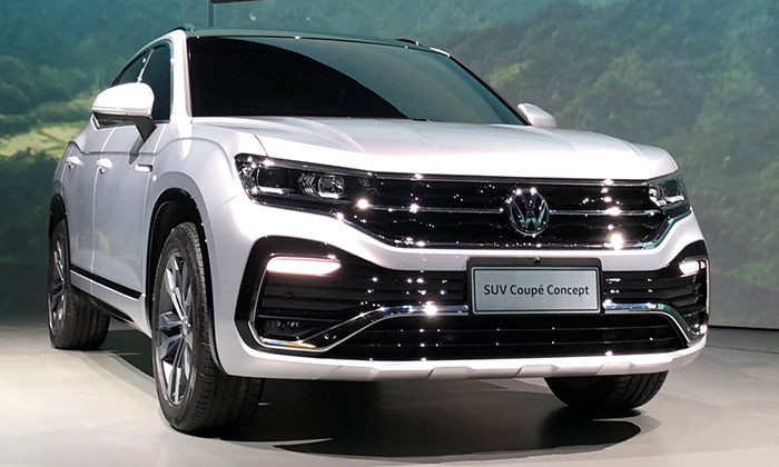Новый кроссовер Volkswagen Tylcon готовится к дебюту