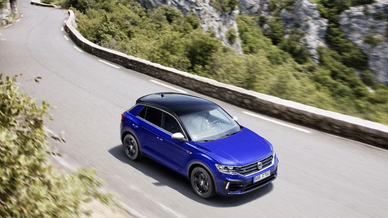 Заряженный кроссовер Volkswagen T-Roc R стартует с продажами в Европе