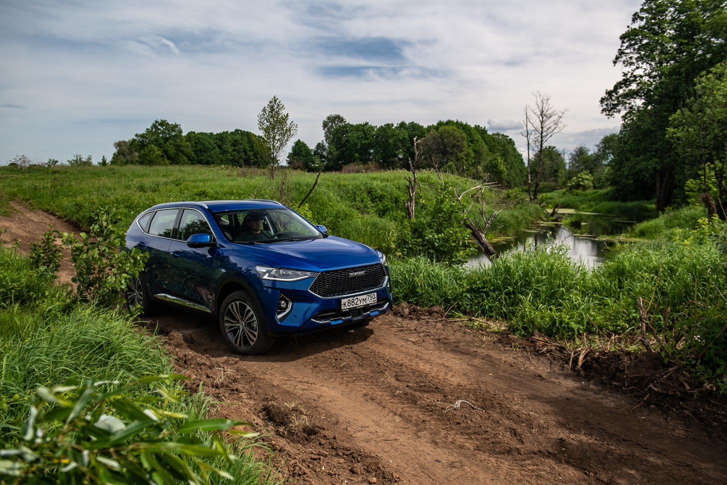 Кросс-купе Haval F7x встал на конвейер на автозаводе бренда в Тульской области
