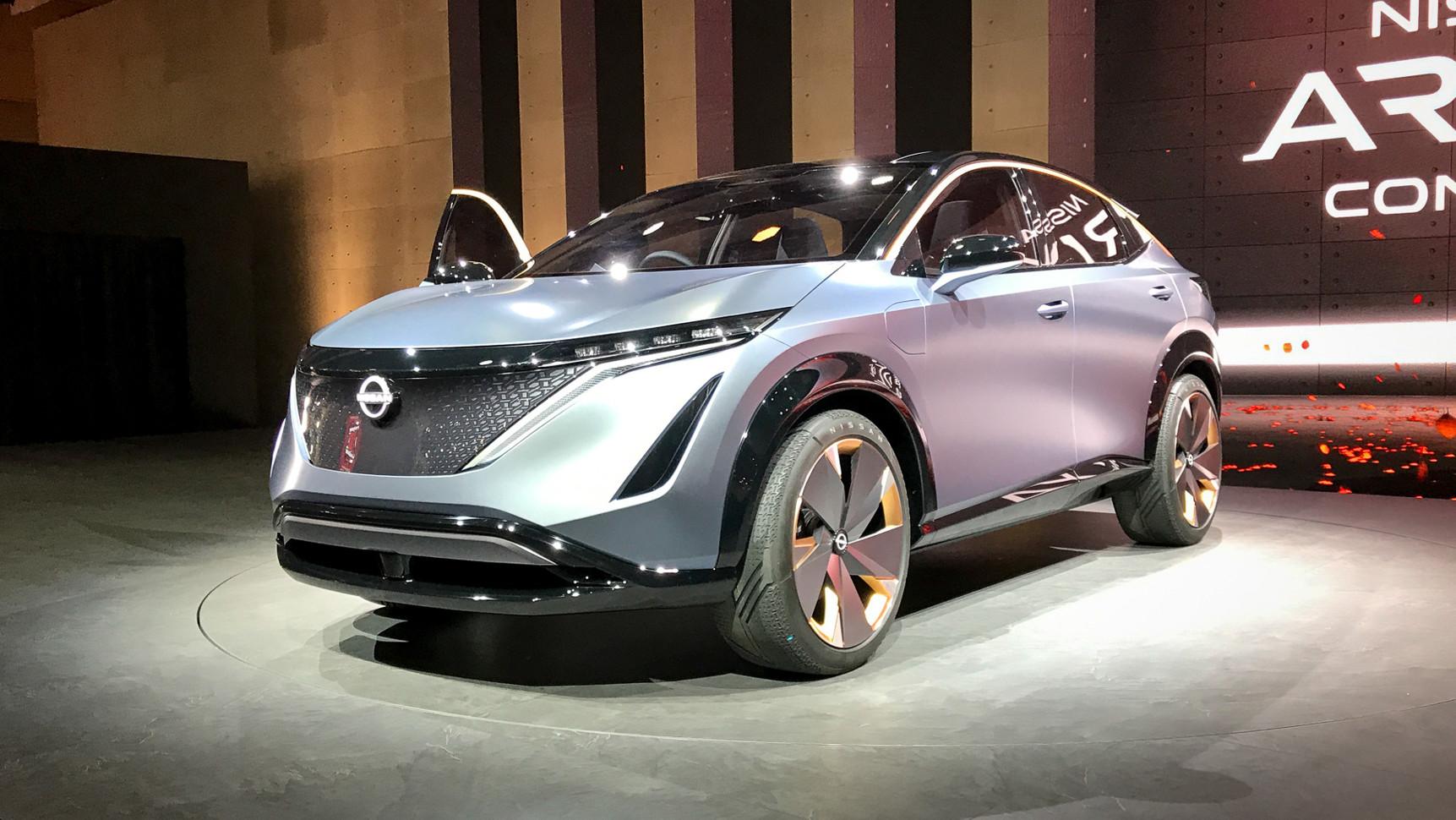 На автосалоне в Токио анонсирован новый кроссовер Nissan Ariya