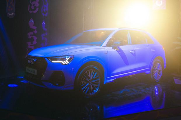 Кросс Audi Q3 2-генерации представлен в Москве на специальном мероприятии