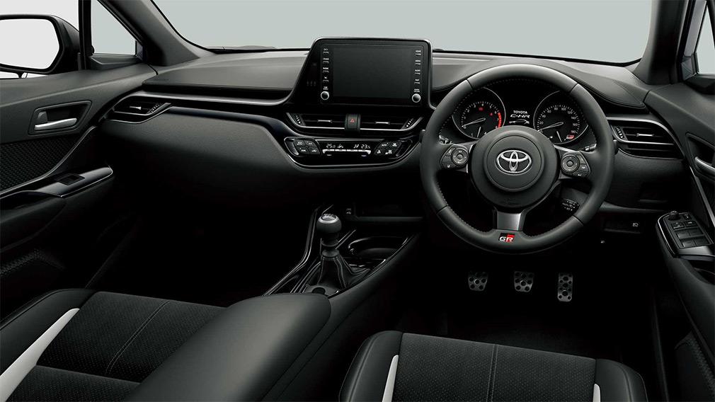 В Японии Toyota презентовала кросс C-HR в спортивной исполнении GR Sport