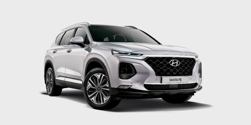 Представлены и названы цены на лимитированные серии кроссов Hyundai Santa Fe и Tucson