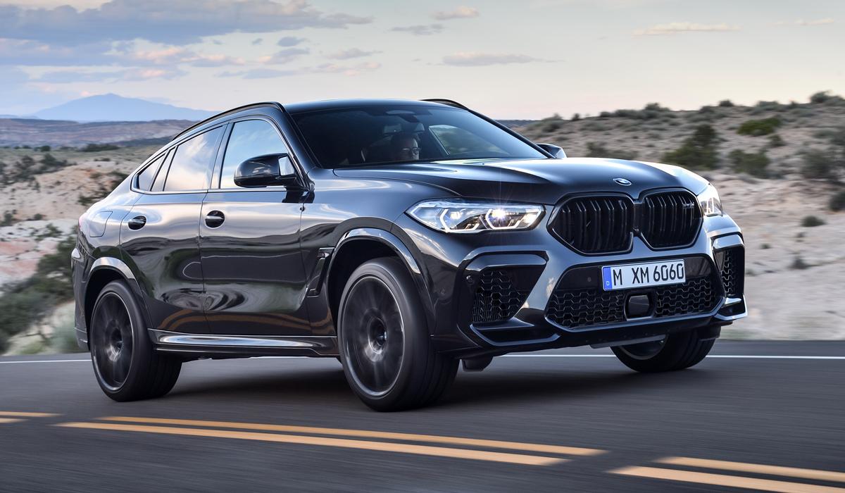 Назван срок и ценовая политика на заряженные кроссоверы BMW X5 M и X6 M