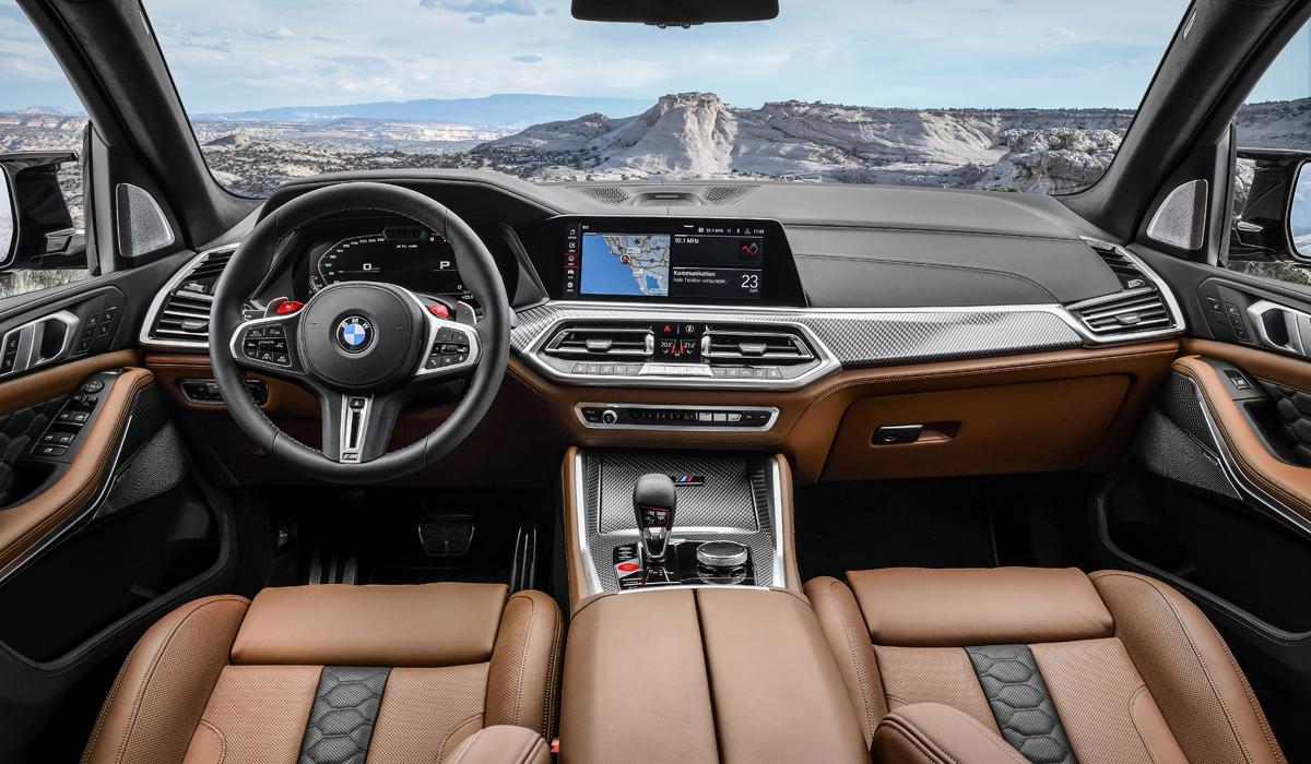 BMW рассекретила новые кроссы X5 M и X6 M