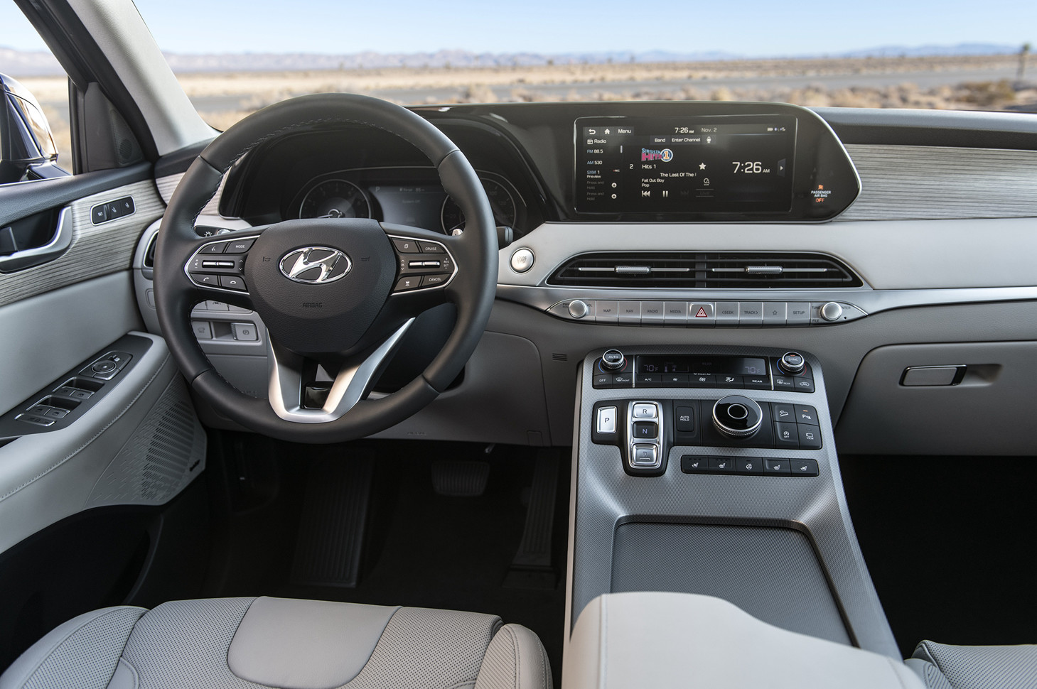 Габаритный кроссовер Hyundai Palisade внесен в базу Роспатента