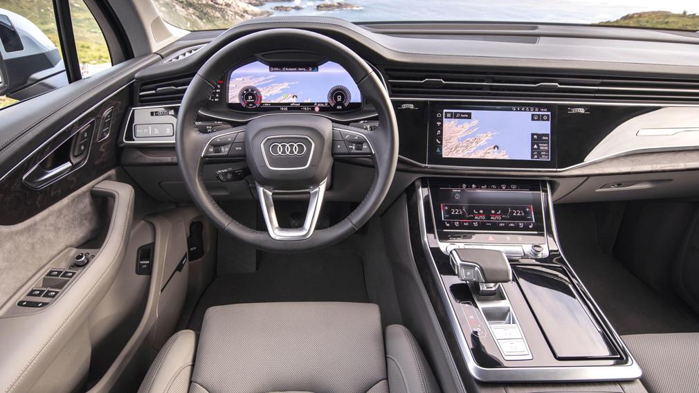 Пилотная партия кроссоверов Audi Q7 калининградской сборки отправлена дилерам