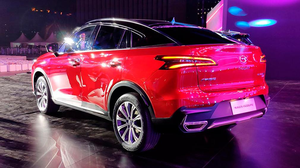 В Гуанчжоу презентован новый кросс-купе GAC GS4 Coupe