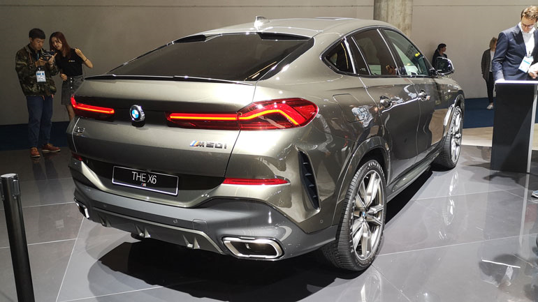 На отечественном рынке начались продажи 3-го поколения кросса BMW X6
