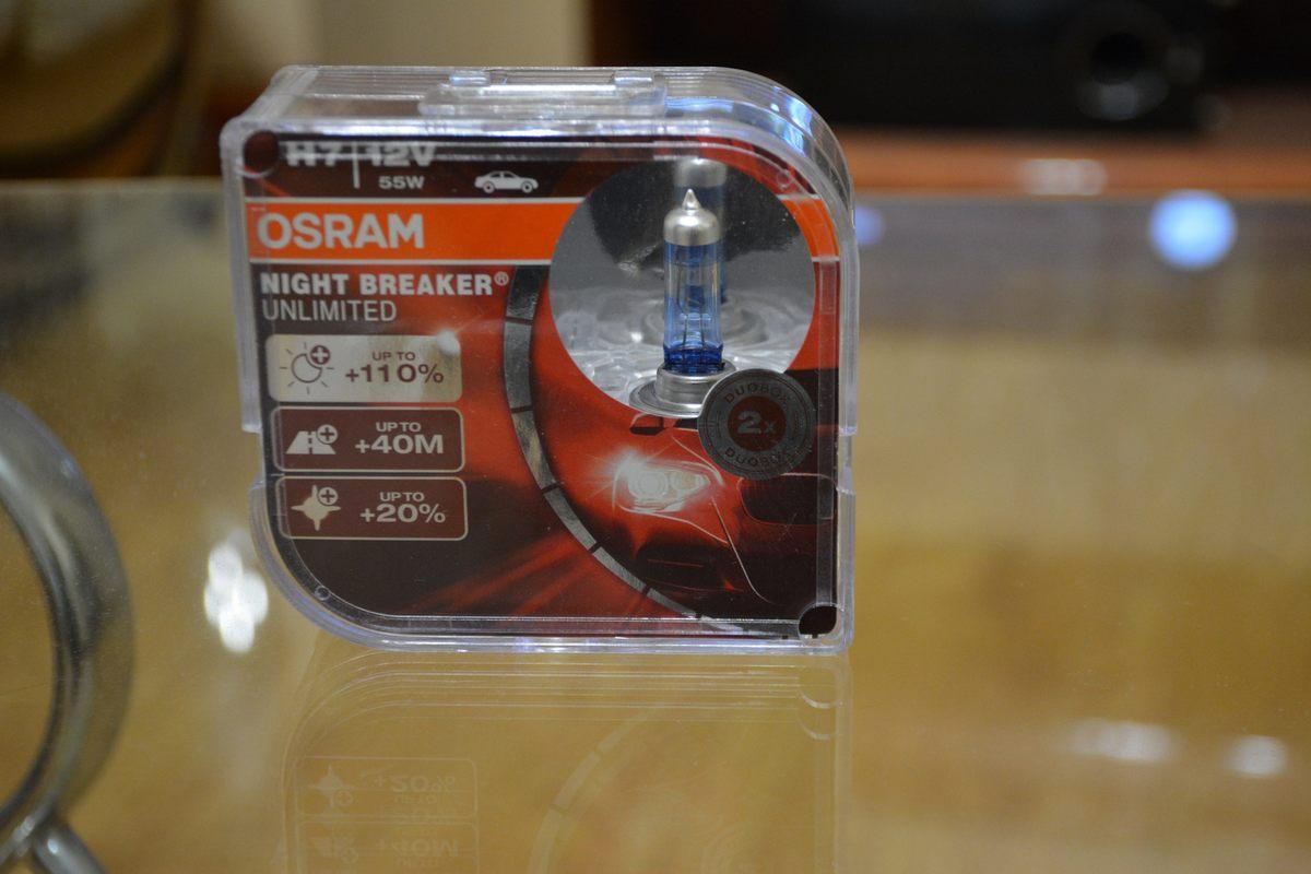 Osram NIGHT BREAKER UNLIMITED H7 64210NBU-HCB 12V 55W