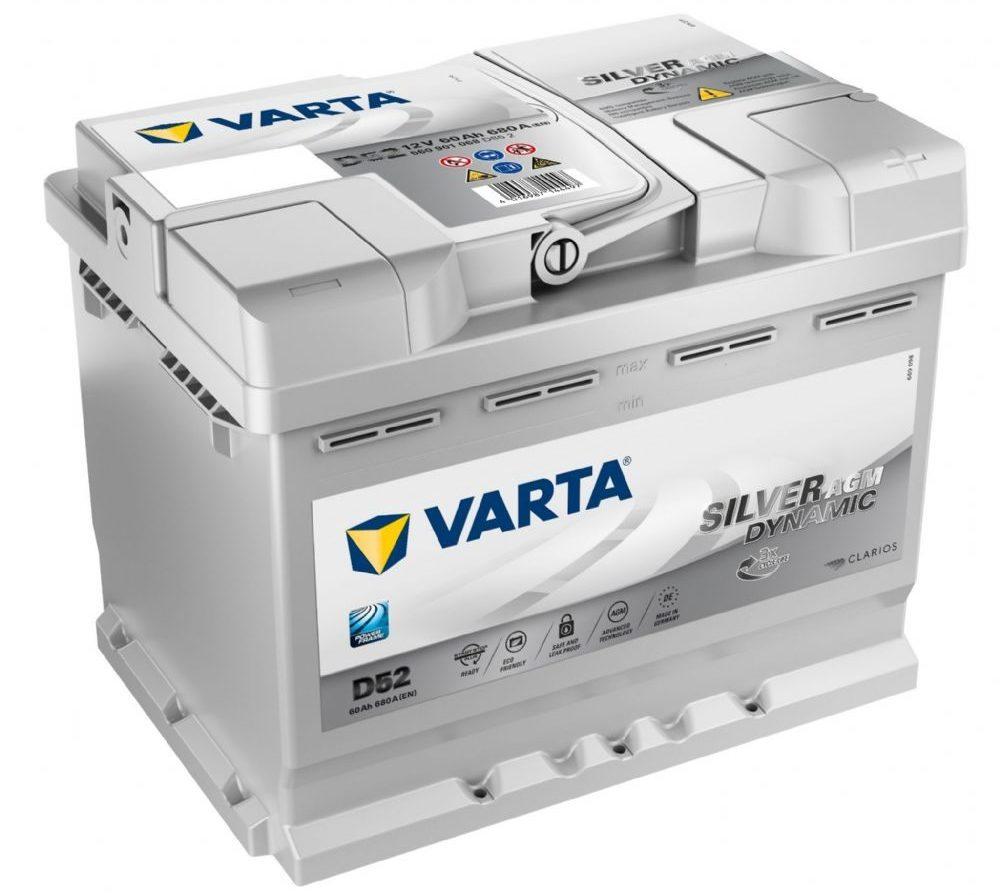 VARTA Silver Dynamic AGM D52 (560 901 068)