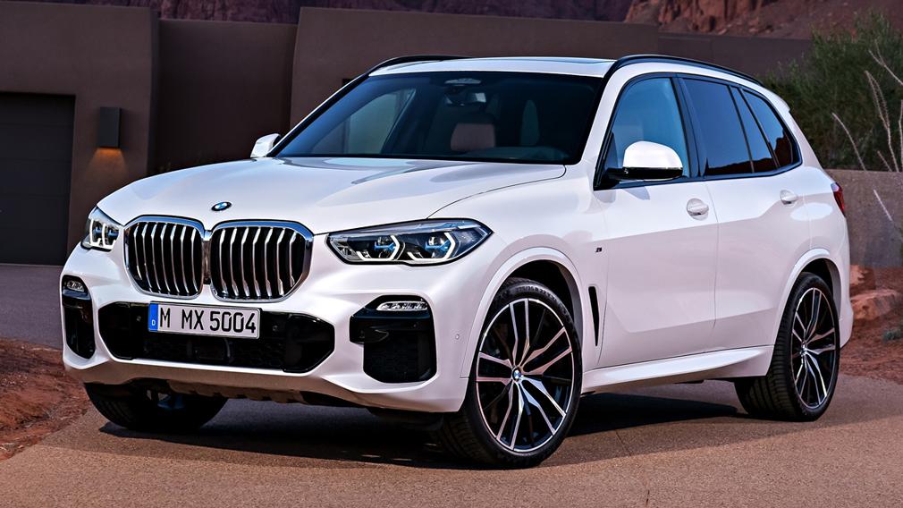 BMW анонсировала российские продажи новых версий кроссов X5 и X6 xDrive40d