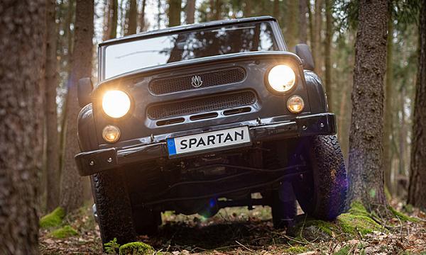 MW Motors на базе УАЗ Хантера запускает электрический внедорожник MWM Spartan