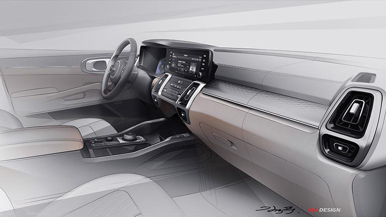 Кроссовер Kia Sorento 4-й генерации: первые официальные изображения